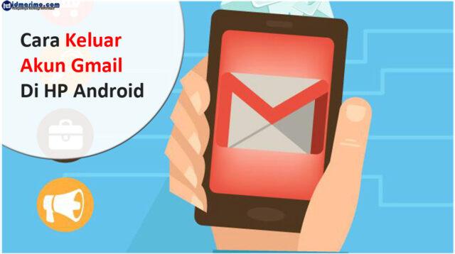 Cara Logout akun Gmail